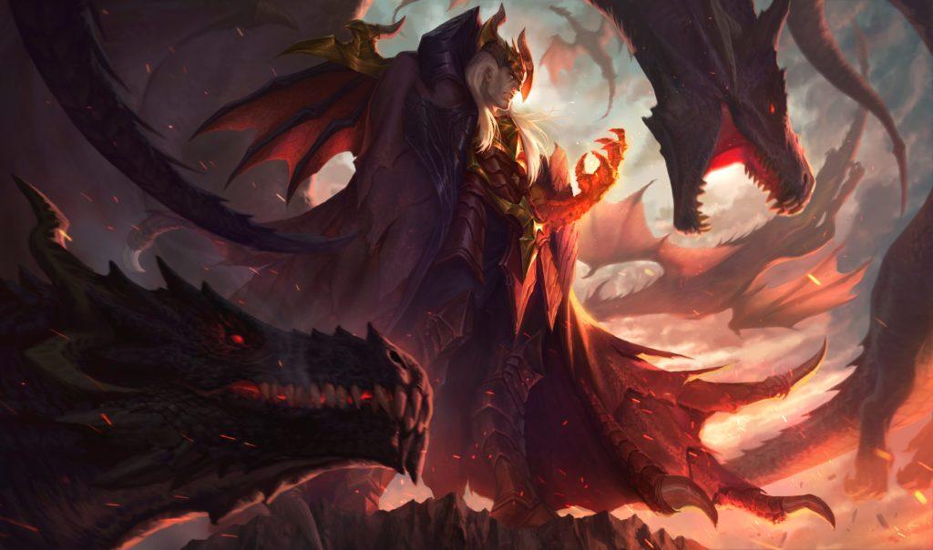 Composicion Demonios Dragones Cambiaformas