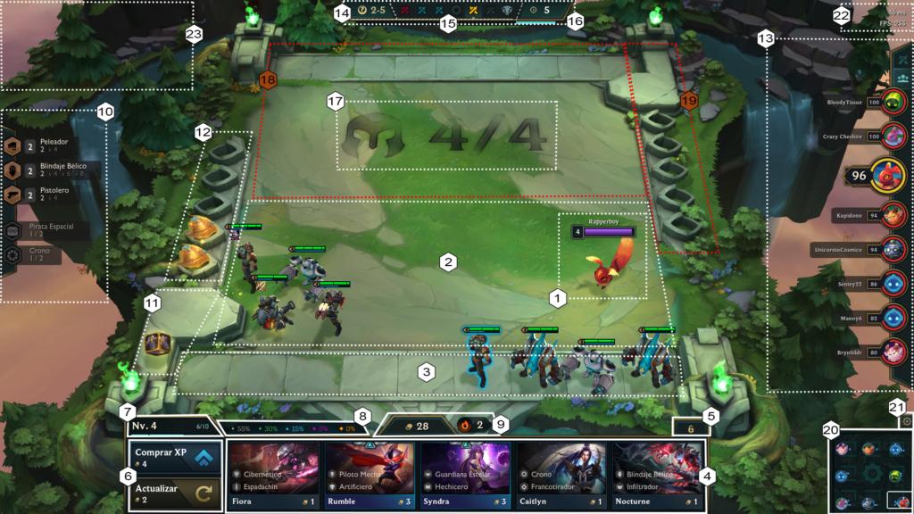 Como Jugar TFT Guia de parche Teamfight tactics Galaxies