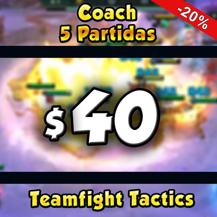Coach Challenger TFT Guiadeparche 5 partidas