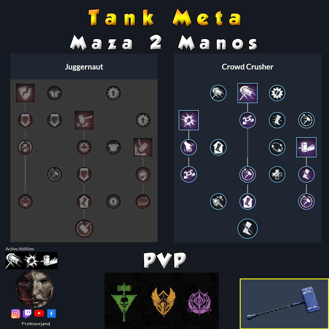 Maza-2-Manos-Tanque-New-World-Septiembre-PVP-PS